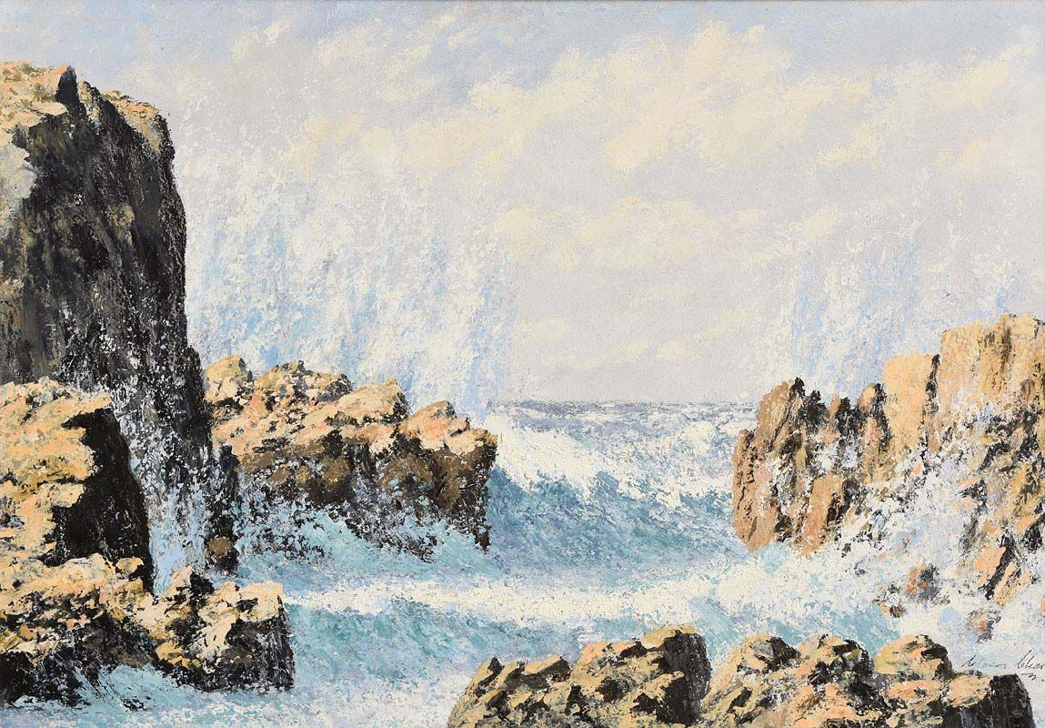 Ciaran Clear, Spray at Morgan O'Driscoll Art Auctions