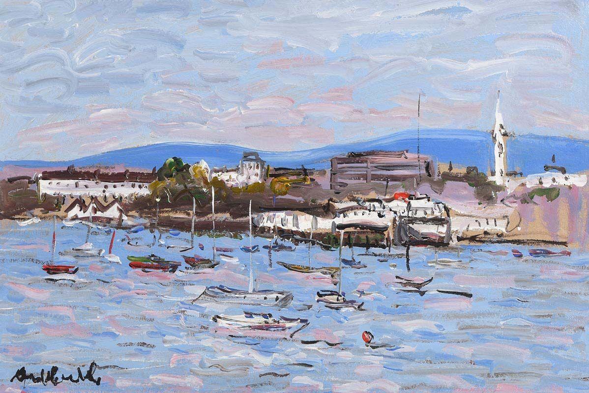 Marie Carroll, Dun Laoghaire at Morgan O'Driscoll Art Auctions