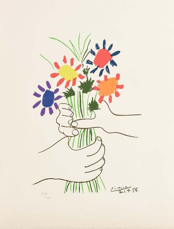 Pablo Picasso, The Bouquet at Morgan O'Driscoll Art Auctions