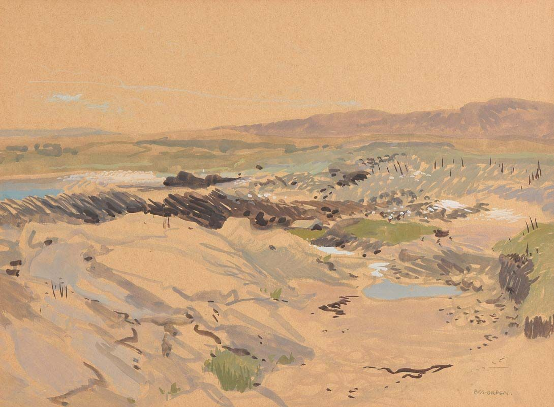 Bea Orpen, Sand Dunes at Morgan O'Driscoll Art Auctions