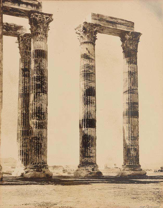 Frédéric Boissonnas, T. of  Olympian Zeus at Morgan O'Driscoll Art Auctions