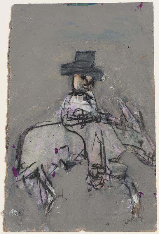 Basil Blackshaw, Cowboy at Morgan O'Driscoll Art Auctions