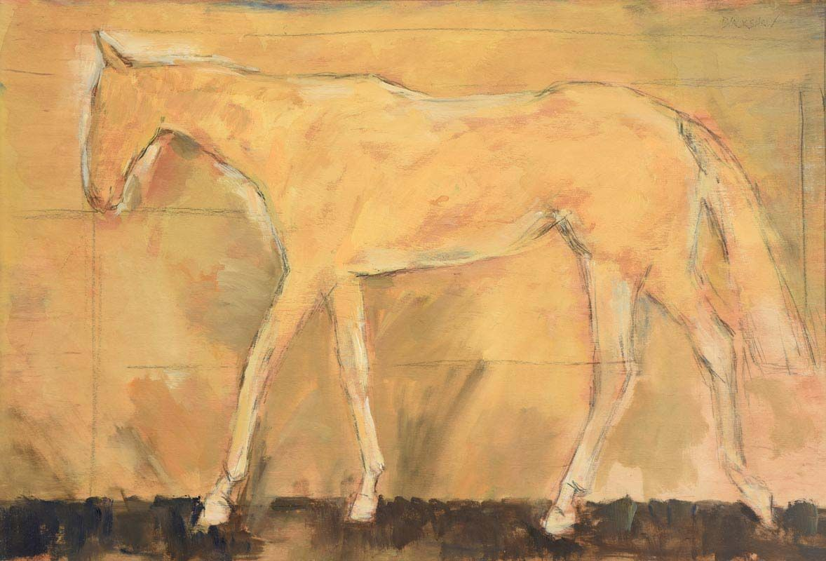 Basil Blackshaw, Horse at Morgan O'Driscoll Art Auctions