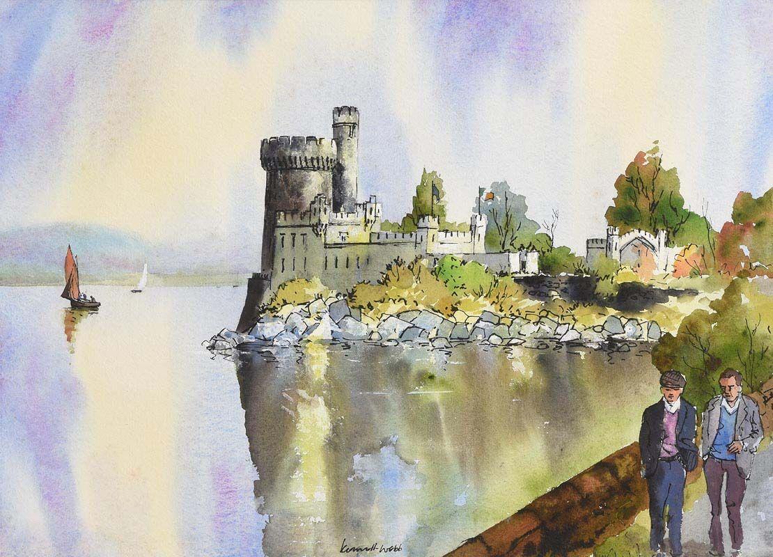 Kenneth Webb, Blackrock Castle, Cork at Morgan O'Driscoll Art Auctions
