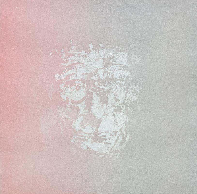 Louis Le Brocquy, Study of Samuel Beckett at Morgan O'Driscoll Art Auctions