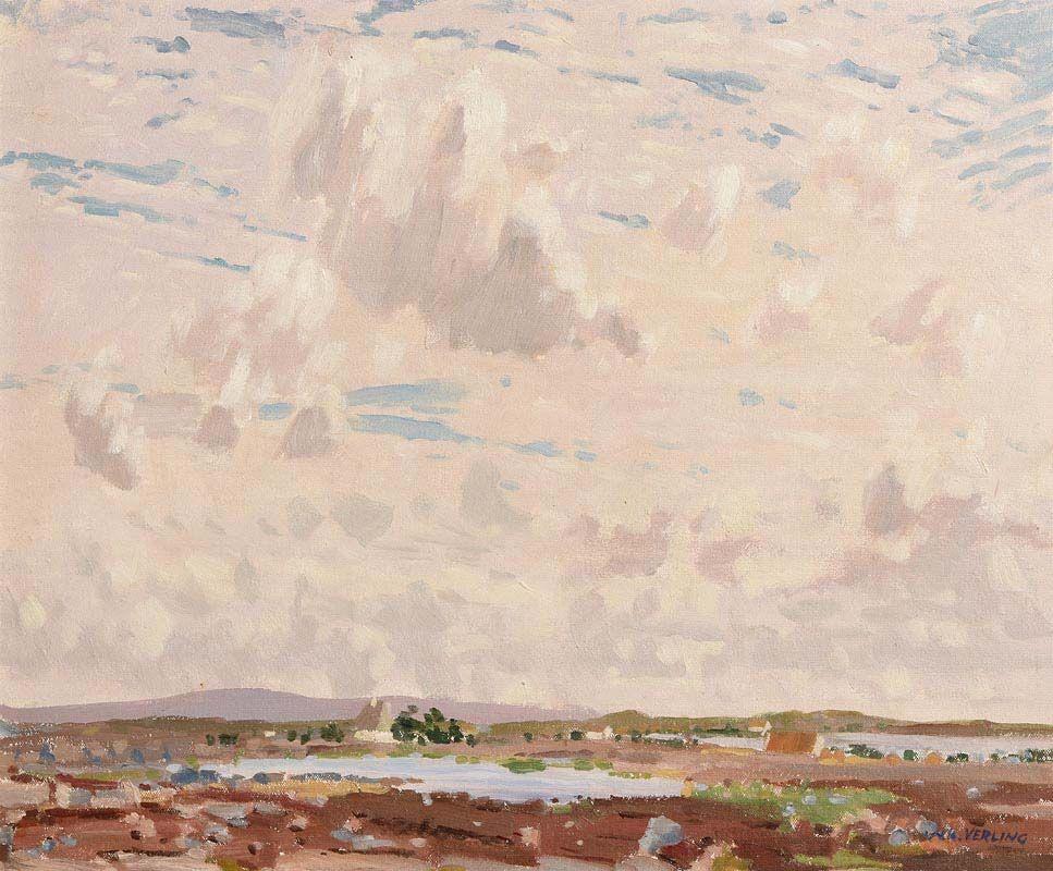 Walter Verling, Baile na hAbaun, Costello, Connemara at Morgan O'Driscoll Art Auctions