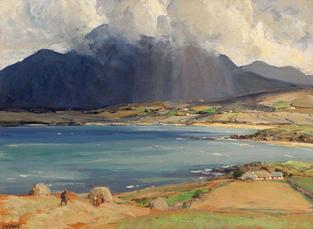 James Humbert Craig, Salrock, Connemara at Morgan O'Driscoll Art Auctions