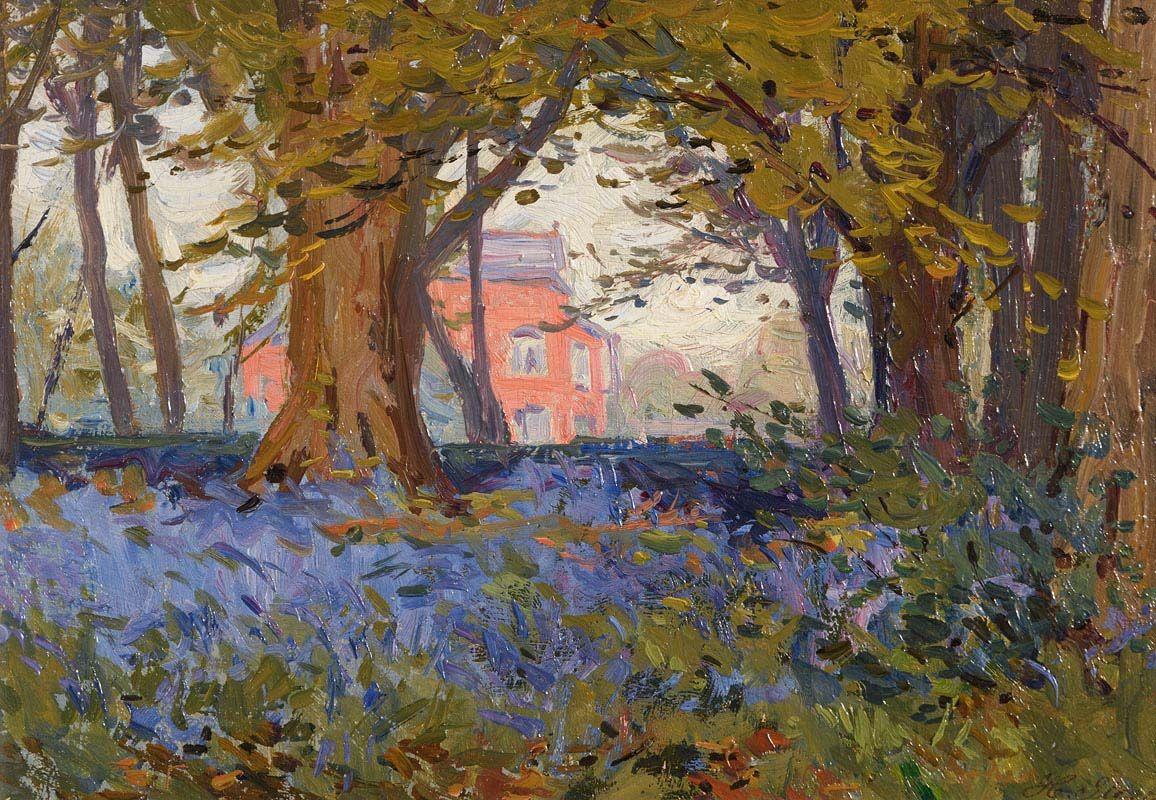 Hans Iten, Bluebells, Belvoir Park at Morgan O'Driscoll Art Auctions