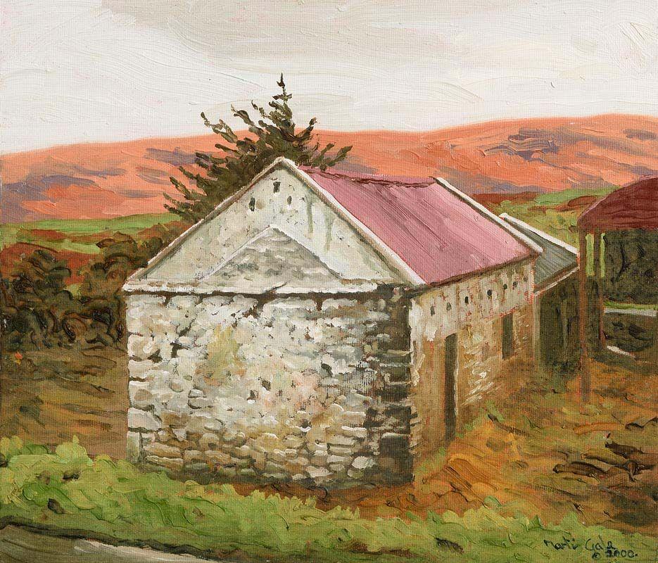 Martin Gale, Mayo Shed No.3 (2000) at Morgan O'Driscoll Art Auctions