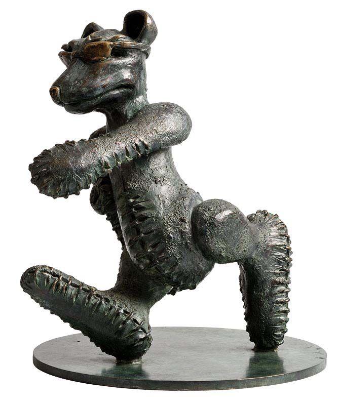 Patrick O'Reilly, Walking Bear (2003) at Morgan O'Driscoll Art Auctions