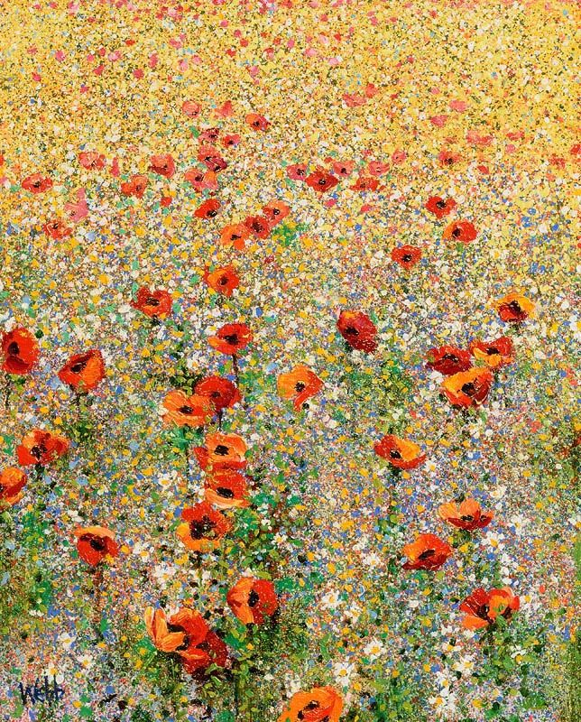 Kenneth Webb, Wild Flower Meadow at Morgan O'Driscoll Art Auctions