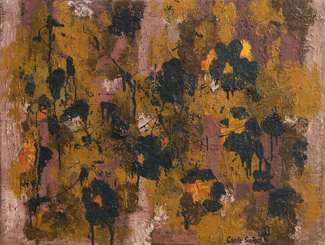 Camille Souter, Winter Vine, Dublin (1958) at Morgan O'Driscoll Art Auctions