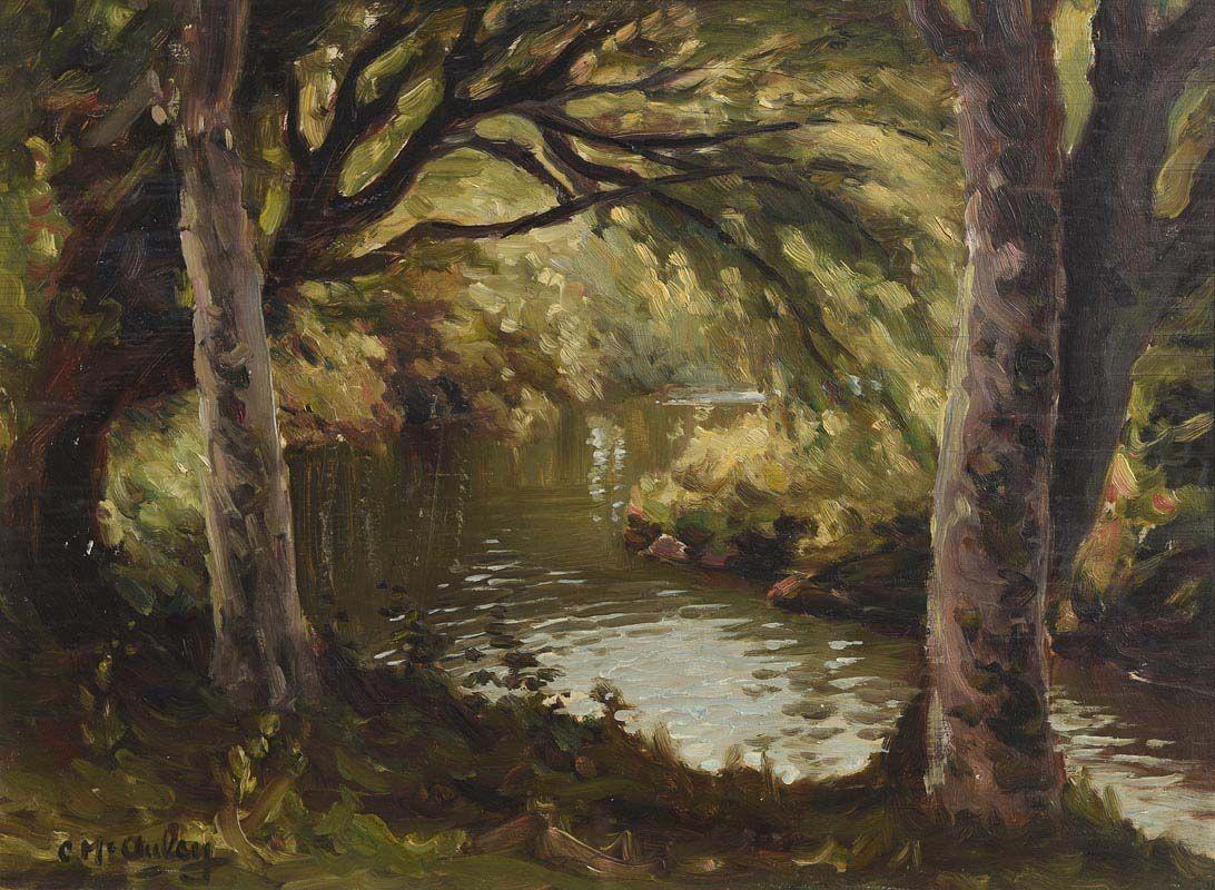 Charles J. McAuley, Dall River at Morgan O'Driscoll Art Auctions