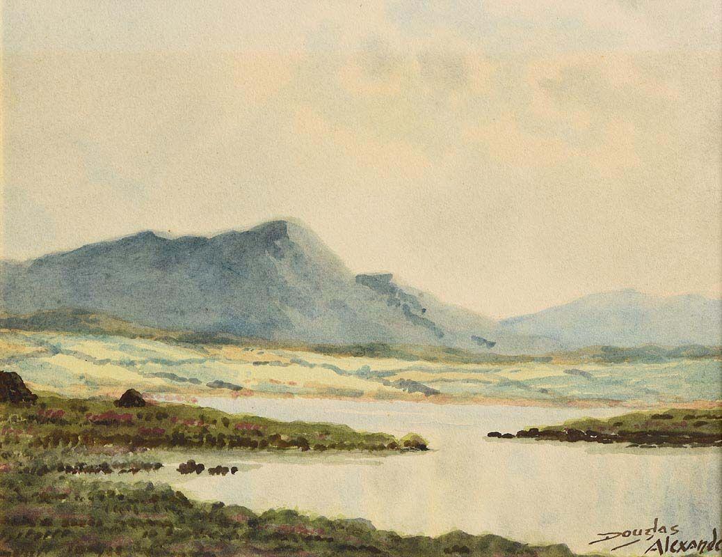 Douglas Alexander, Connemara Landscape at Morgan O'Driscoll Art Auctions