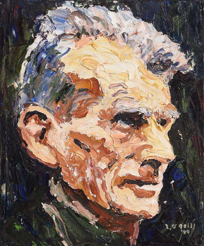 Liam O'Neill, Samuel Beckett (1989) at Morgan O'Driscoll Art Auctions