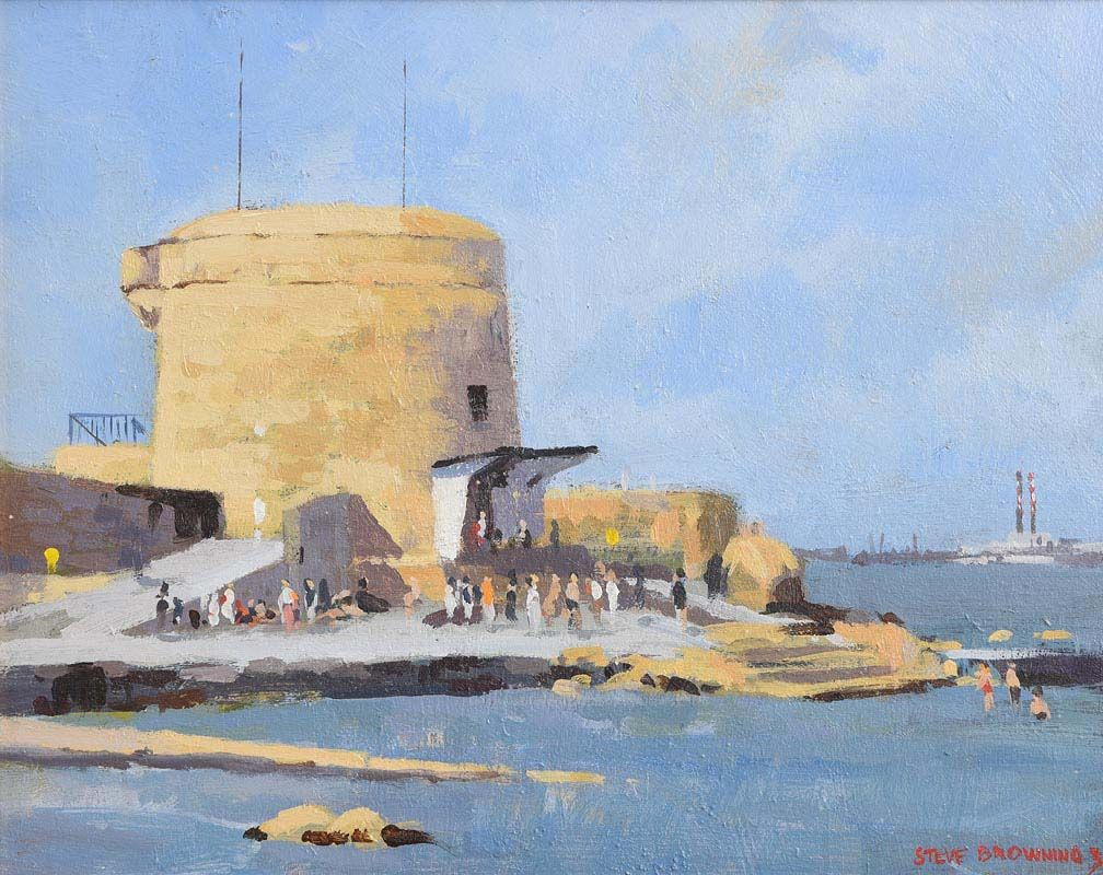 Stephen Browning, Seapoint, Dublin at Morgan O'Driscoll Art Auctions