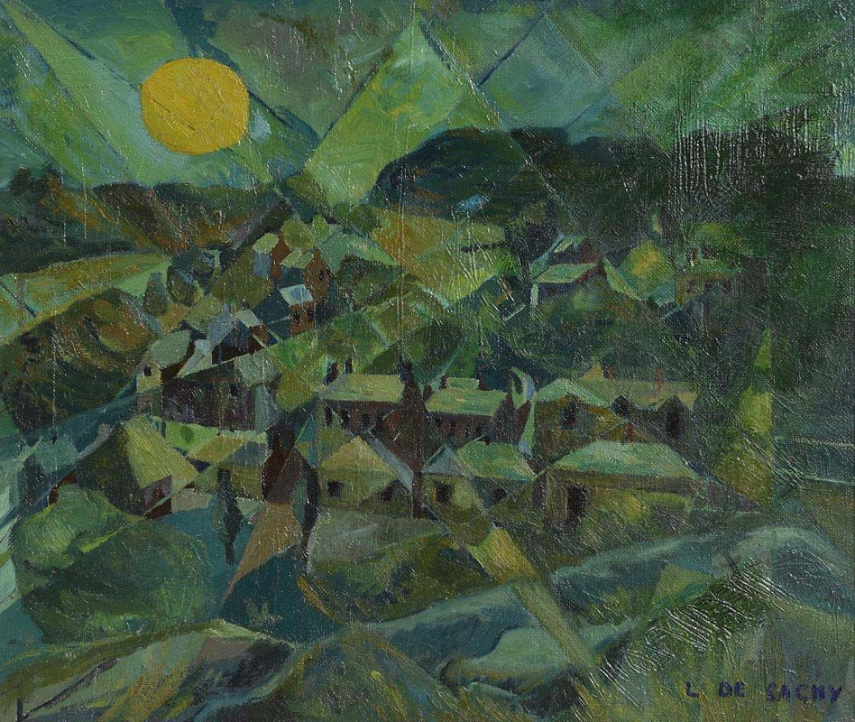 Leon De Sachy, Homage at Morgan O'Driscoll Art Auctions