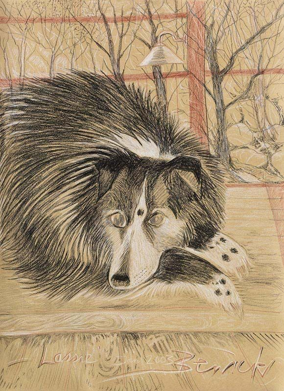 Pauline Bewick, Lassie (2003) at Morgan O'Driscoll Art Auctions