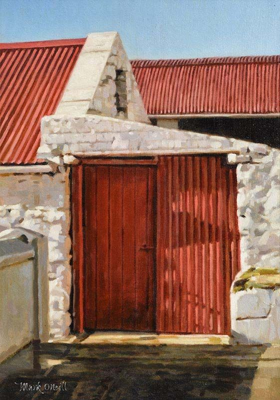 Mark O'Neill, Ballybunion Red at Morgan O'Driscoll Art Auctions