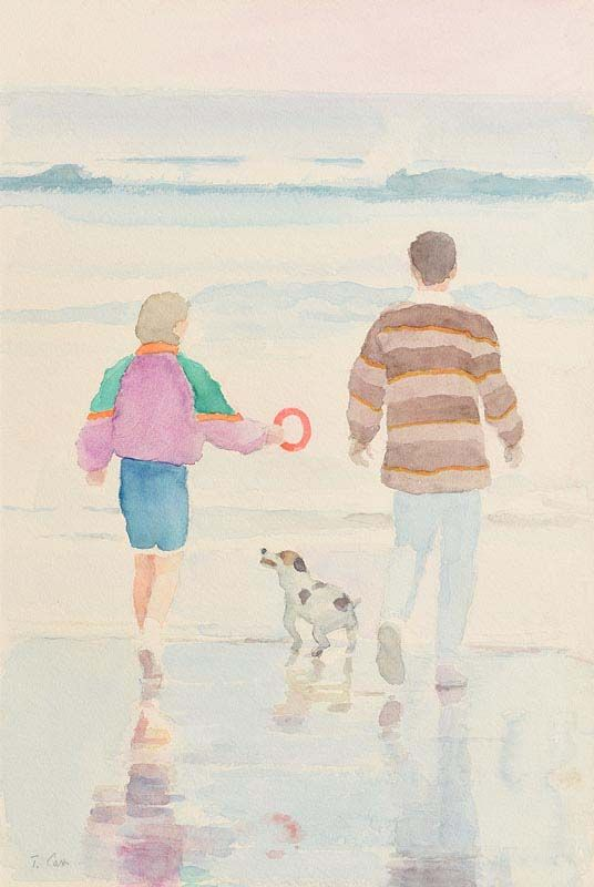 Tom Carr, Family Outing at Morgan O'Driscoll Art Auctions