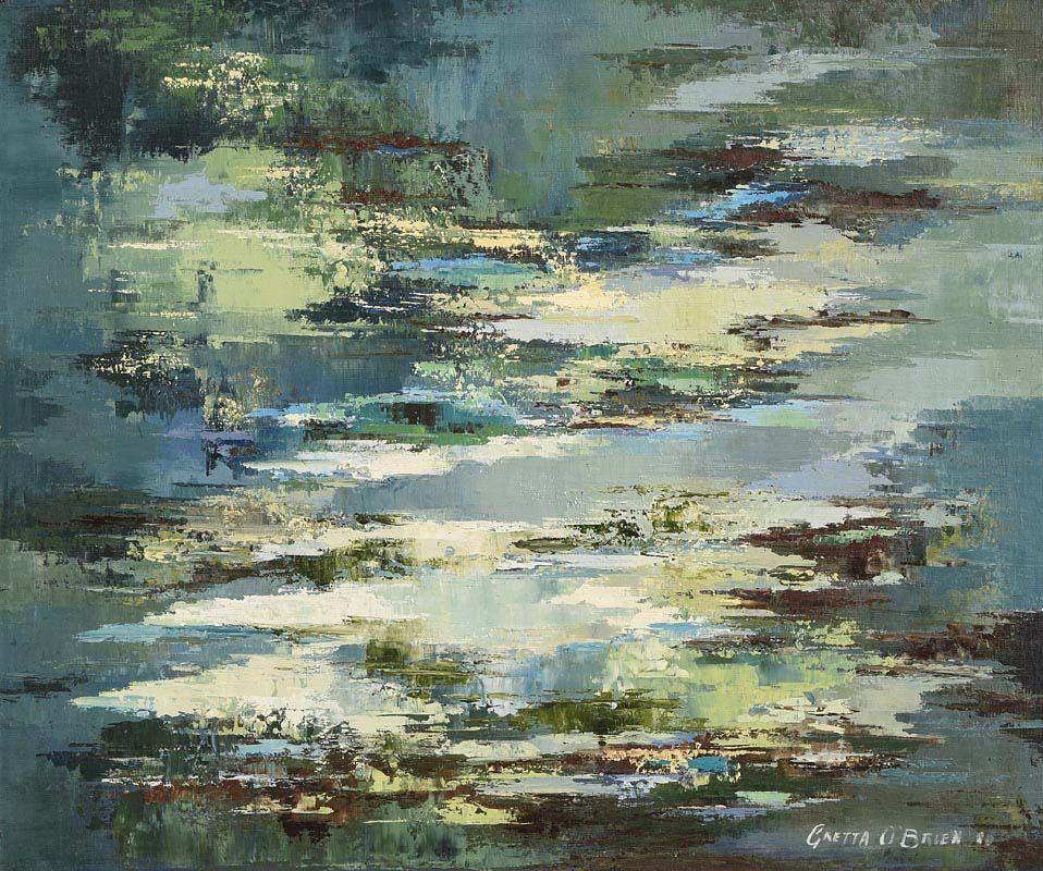 Gretta O'Brien, Reflections (1980) at Morgan O'Driscoll Art Auctions