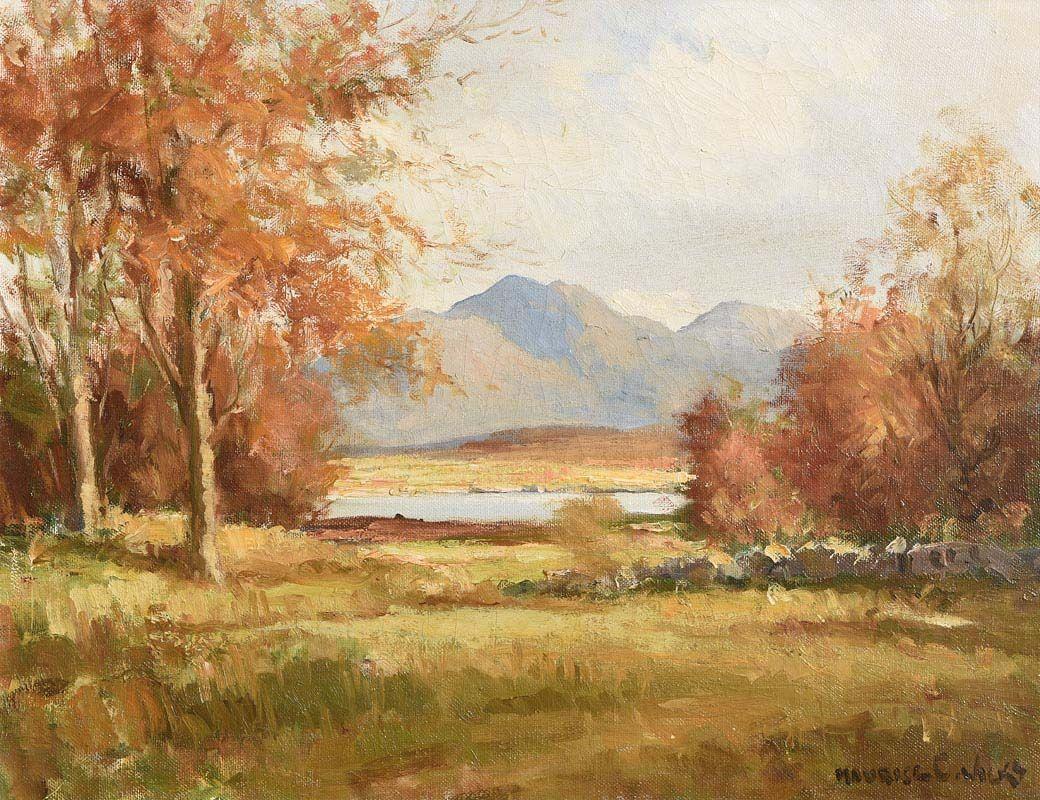 Maurice Canning Wilks, Connemara Landscape at Morgan O'Driscoll Art Auctions