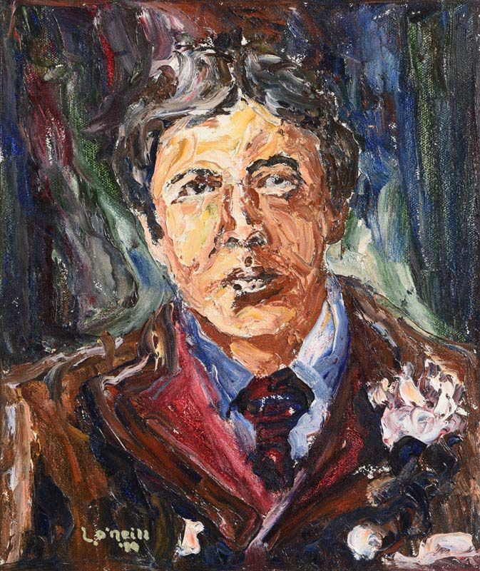 Liam O'Neill, Oscar Wilde (1989) at Morgan O'Driscoll Art Auctions