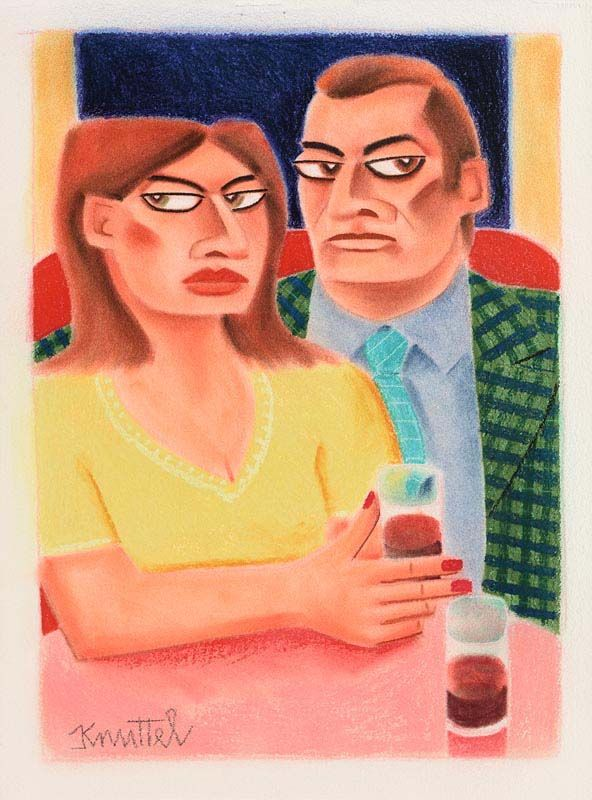 Graham Knuttel, First Date at Morgan O'Driscoll Art Auctions
