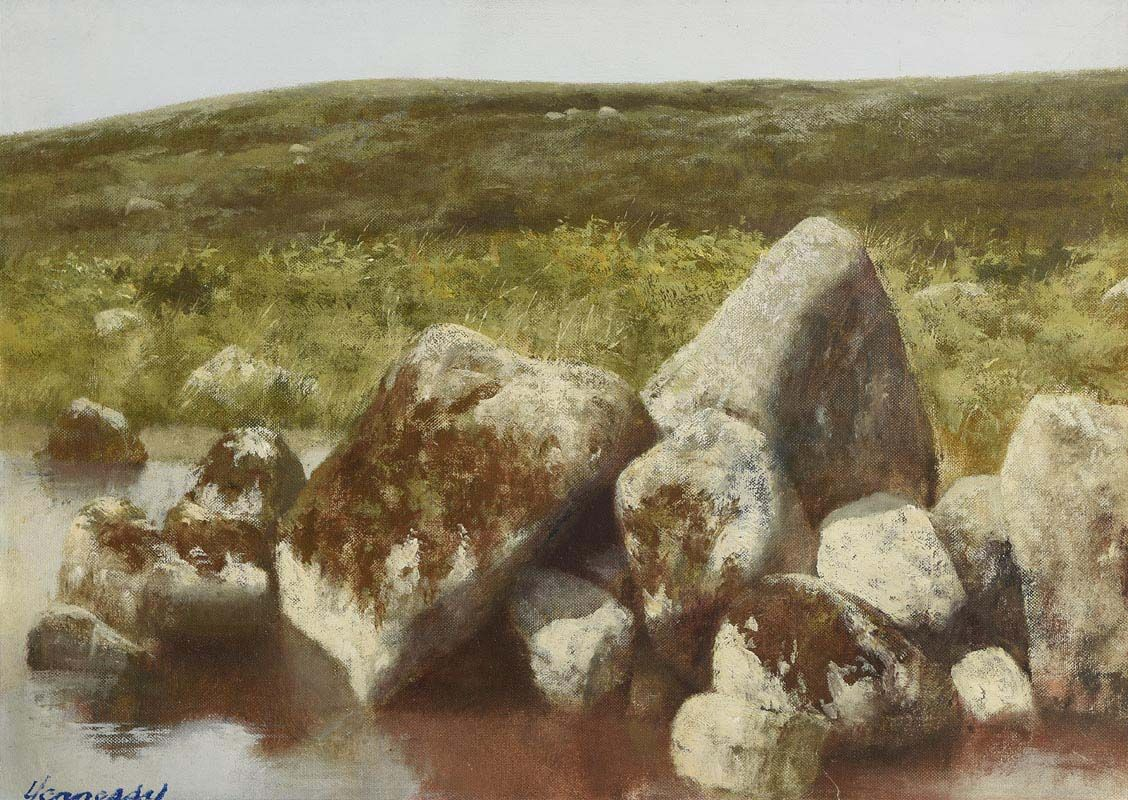 Patrick Hennessy, Mountain Pool at Morgan O'Driscoll Art Auctions