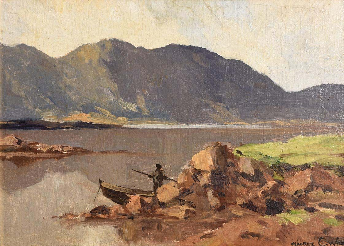 Maurice Canning Wilks, Connemara Lake at Morgan O'Driscoll Art Auctions
