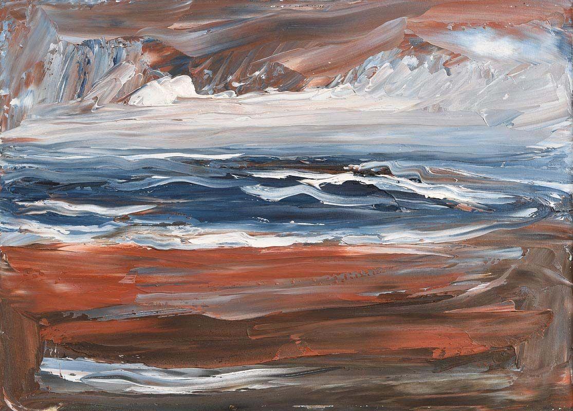 Sean McSweeney, Shoreline, Ballyconnell (1987) at Morgan O'Driscoll Art Auctions