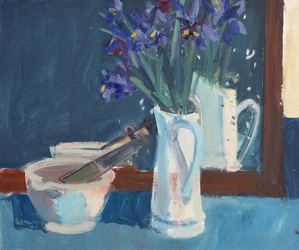 Brian Ballard, White Jug in Mirror (2001) at Morgan O'Driscoll Art Auctions