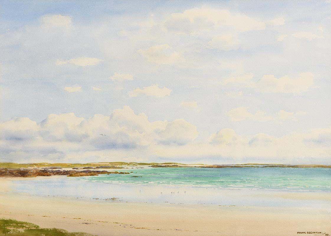 Frank Egginton, Aillebrack Strand, Connemara (1988) at Morgan O'Driscoll Art Auctions