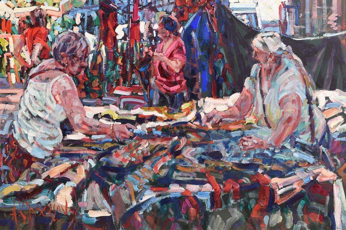 Arthur K. Maderson, An Eye for a Bargain at Morgan O'Driscoll Art Auctions