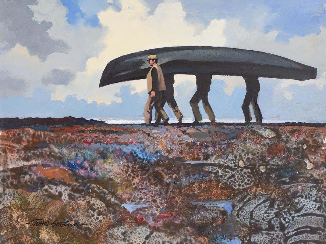 John Skelton, The Big Currach (1984) at Morgan O'Driscoll Art Auctions