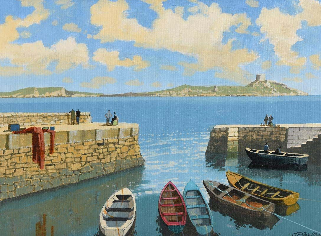 John Francis Skelton, Dalkey Island View, Dalkey, Dublin at Morgan O'Driscoll Art Auctions