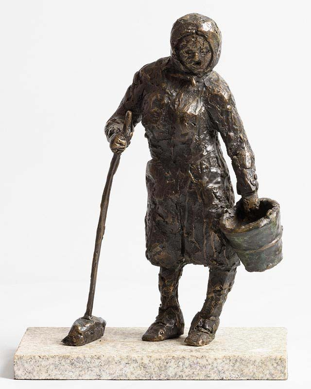 Daithi Brophy, A Women's Work is Never Done at Morgan O'Driscoll Art Auctions