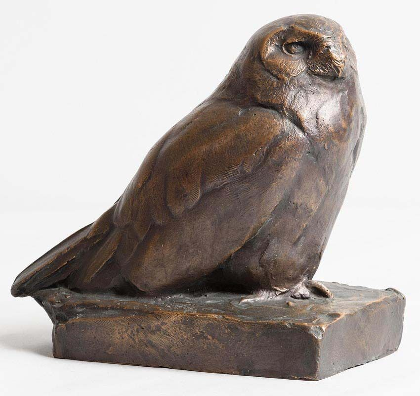Willy Zugel, Snowy Owl at Morgan O'Driscoll Art Auctions