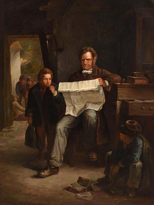 Erskine Nicol, Kept In at Morgan O'Driscoll Art Auctions