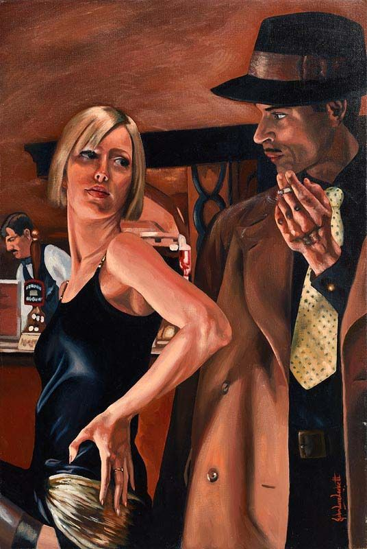 John Luce Lockett, The Knowing Glance at Morgan O'Driscoll Art Auctions