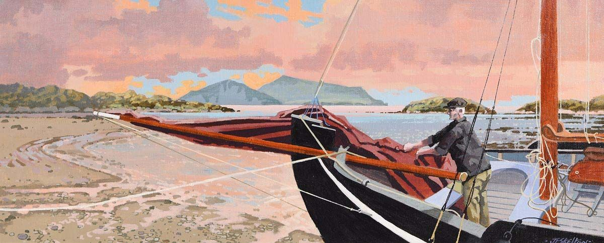 John Francis Skelton, Derrynane Bay, Kerry at Morgan O'Driscoll Art Auctions
