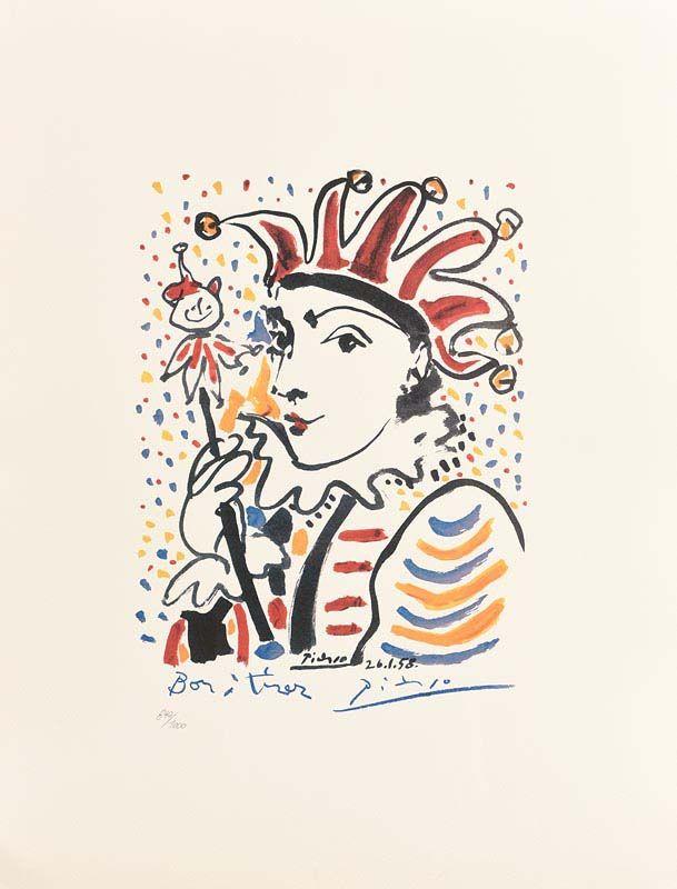 Pablo Picasso, Carnival (1958) at Morgan O'Driscoll Art Auctions