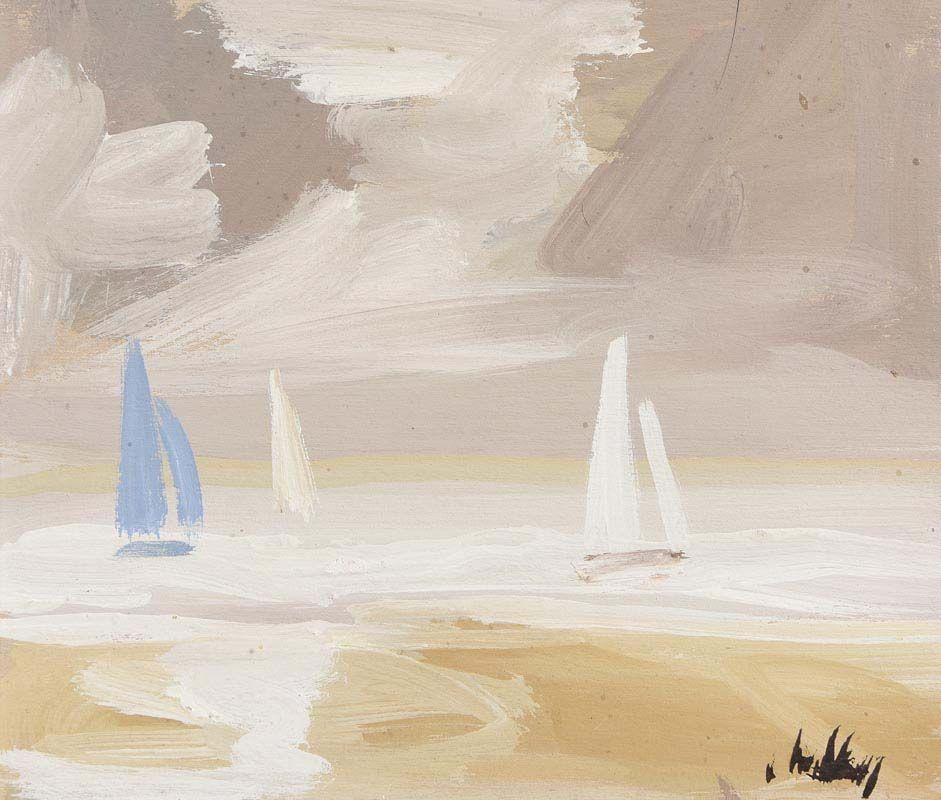 Markey Robinson, Sailing at Morgan O'Driscoll Art Auctions