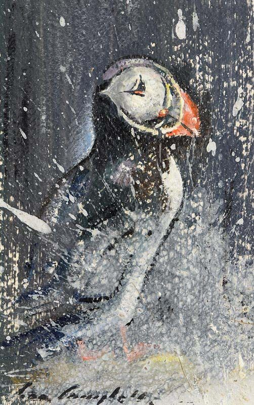 Con Campbell, Puffin at Morgan O'Driscoll Art Auctions