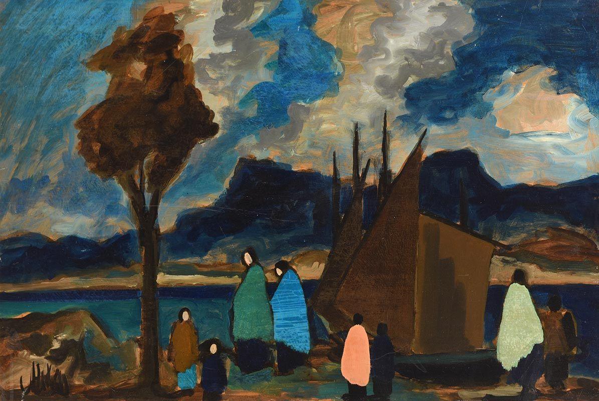 Markey Robinson, Mountain Bay at Morgan O'Driscoll Art Auctions