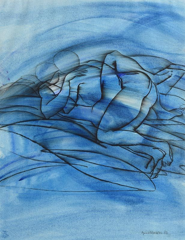 Anne Madden, Embrace (1984) at Morgan O'Driscoll Art Auctions