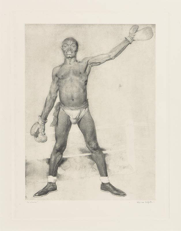 Sir William Orpen, The Winner at Morgan O'Driscoll Art Auctions