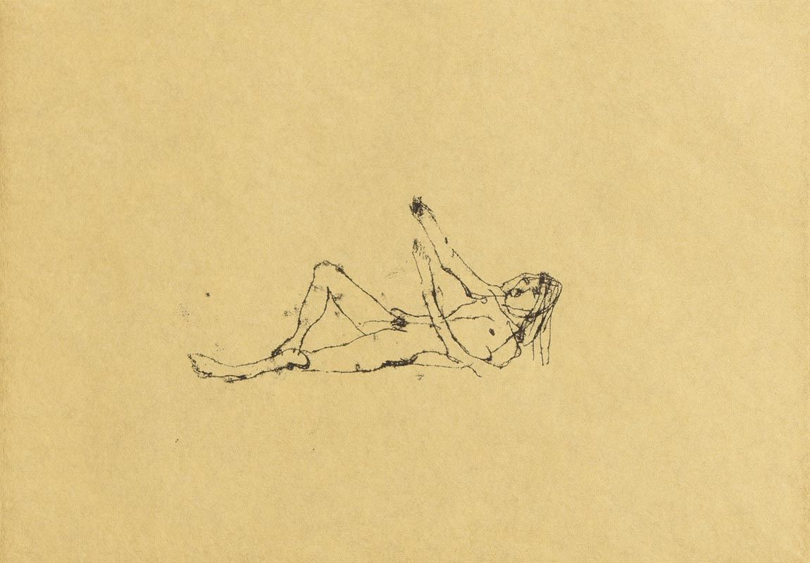Tracey Emin, And Then You Left Me (2008) at Morgan O'Driscoll Art Auctions