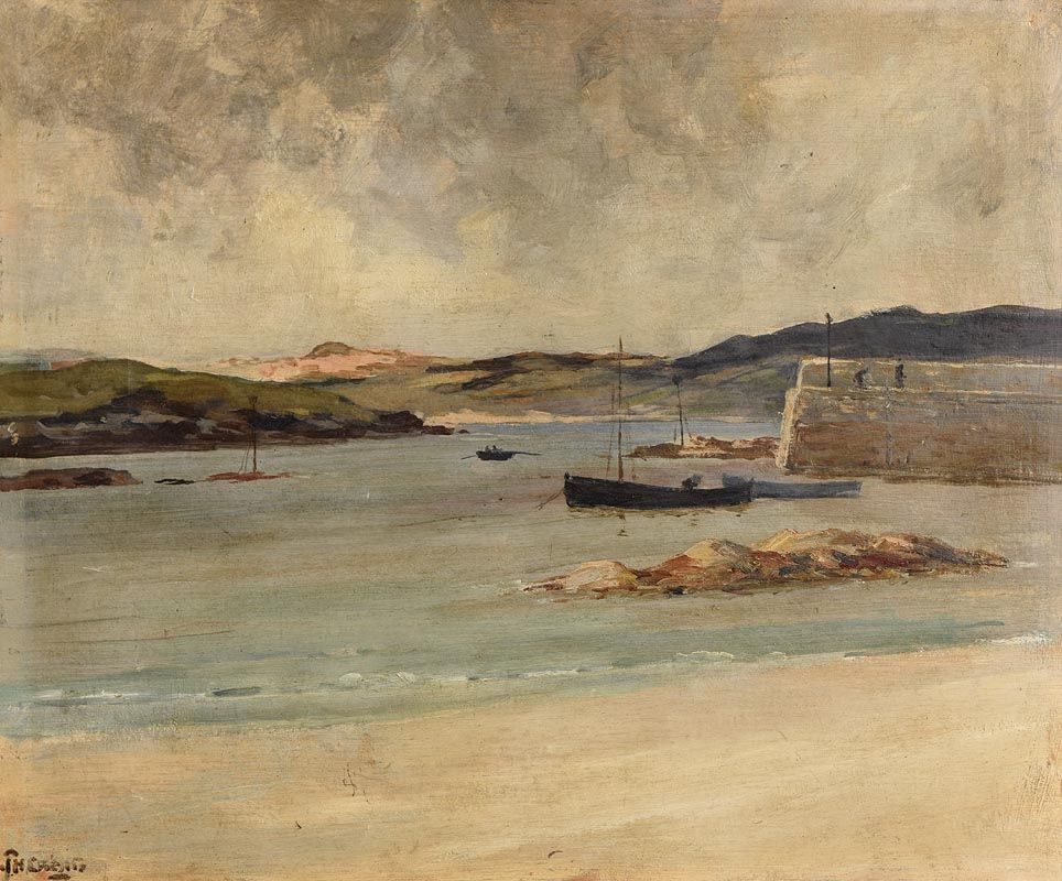 James Humbert Craig, Portnablagh, Co Donegal (1921) at Morgan O'Driscoll Art Auctions
