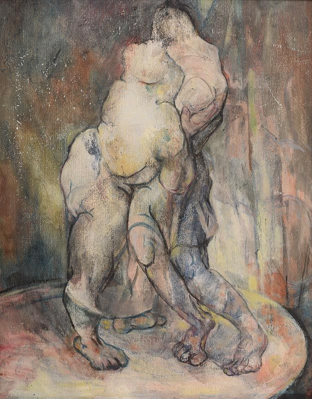 Mary Swanzy, Two Figures at Morgan O'Driscoll Art Auctions